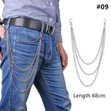 Long Metal Pant Keychain accessories 09