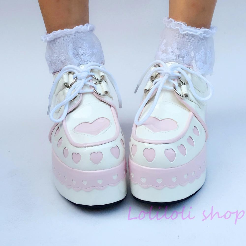Sweet Lolita Princess Platforms shoes