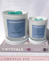 AMAZONITE | Crystal Infused Candle
