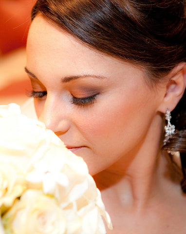 bride closeups