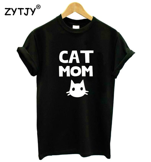 Cat Mom T-shirt