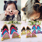 Cat Ear Hairpins