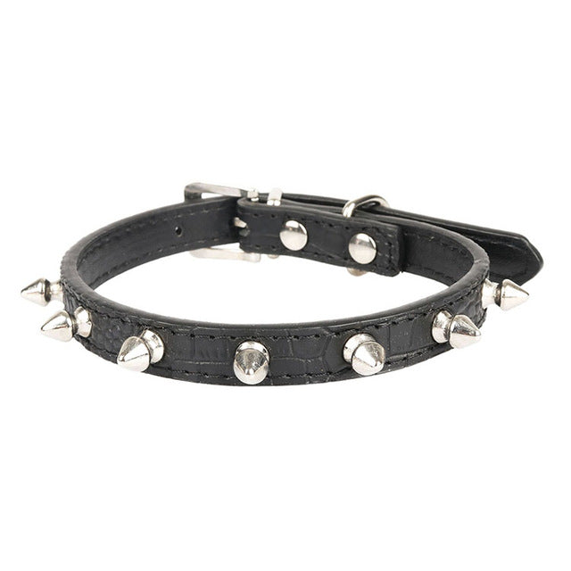 Spiked Punk Cat Collar
