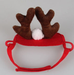 Reindeer Antlers Cat Head Wear