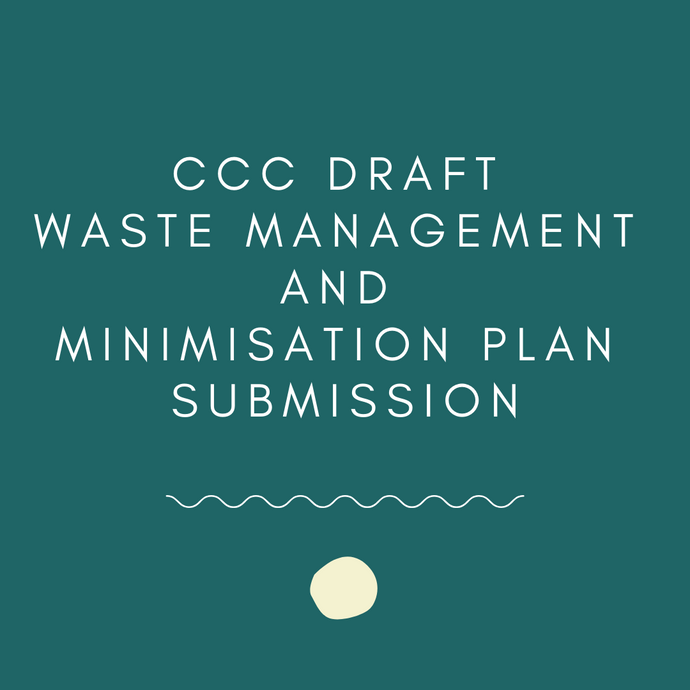 CCC Waste Management and Minimisation Plan Submission