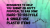 Govt's Proposal To Ban Some Hard-To-Recycle And Single-Use Plastic Items