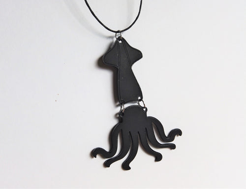 Squid Two Piece Necklace
