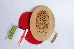 Embroidery Cactus Kit