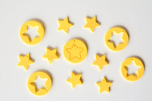 Mario Star Earrings