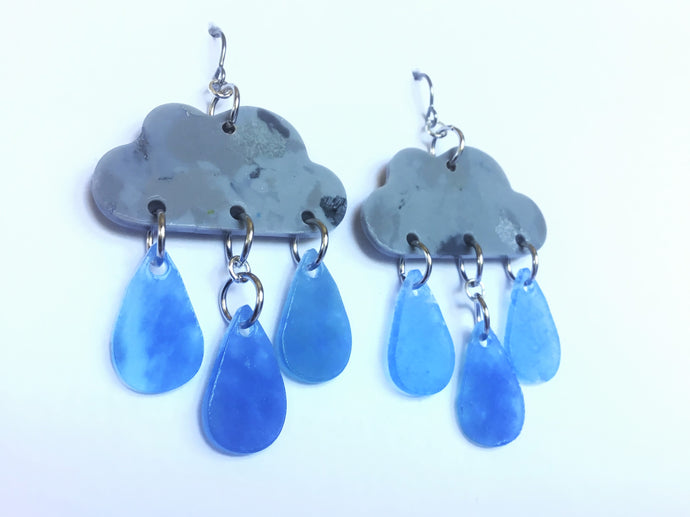 Rain Cloud Collab Earrings