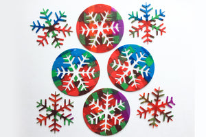 Christmas Snowflake Set