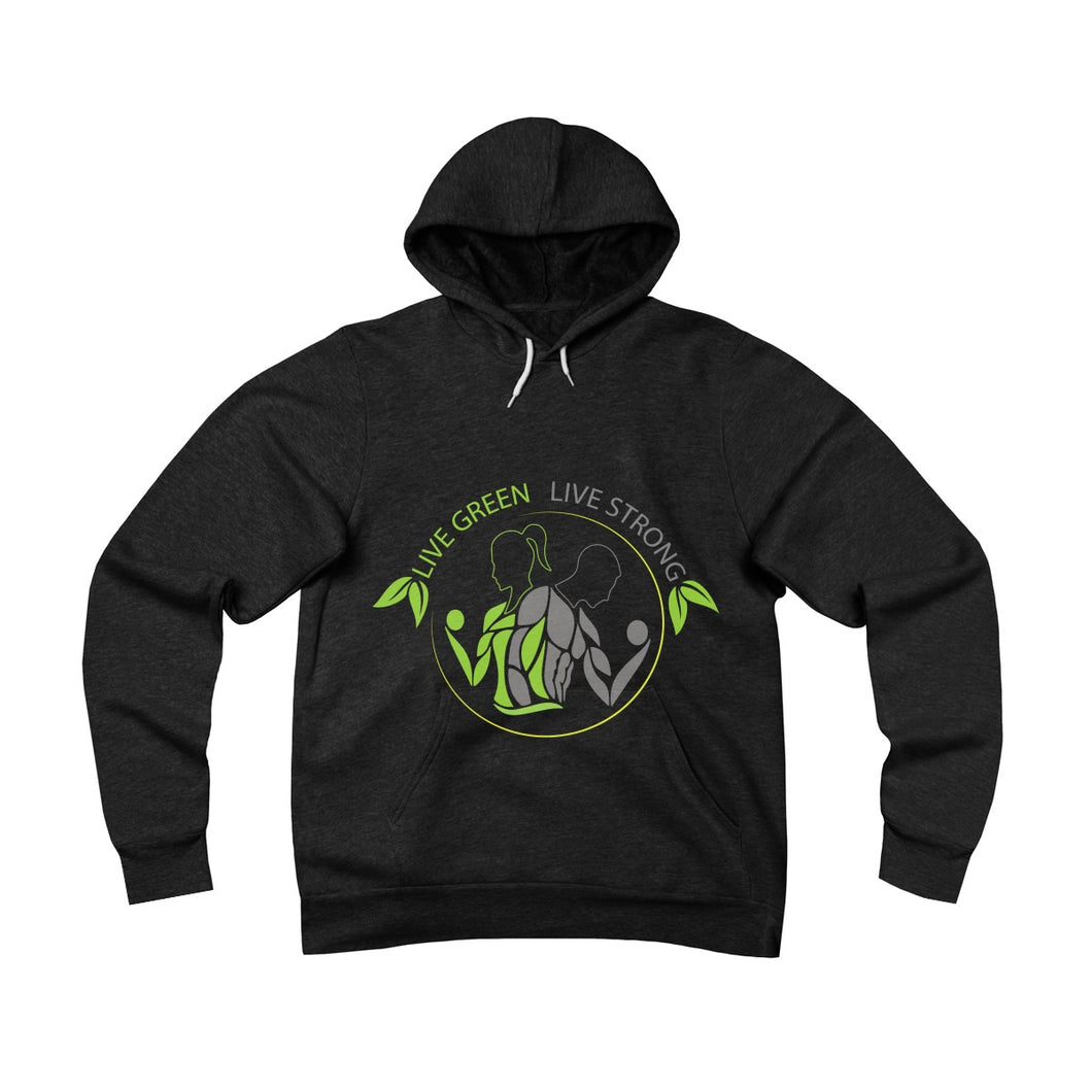 Live Green Live Strong Pullover Hoodie