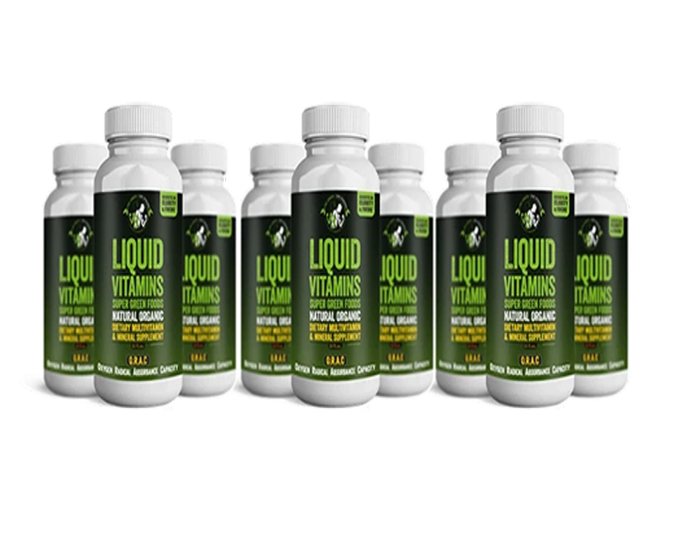 "Buy one set of 12 "" All in one Natural Organic Liquid Vitamin Drink Travel Pack 2oz."" and get another set for free!"