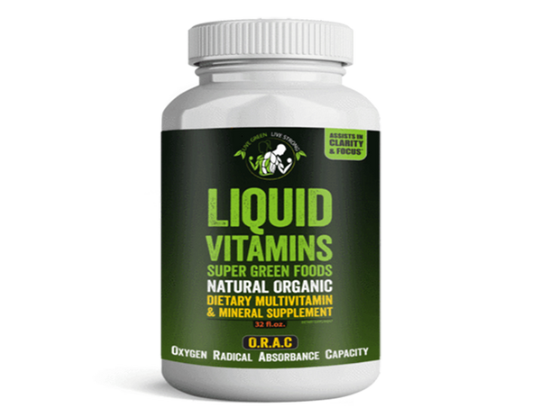 All in one Natural Organic Liquid Vitamin Drink 32 oz.