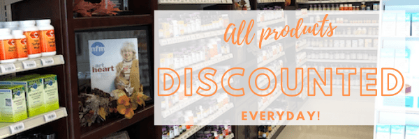 All Supplements Discounted Off Regular Retail Everyday