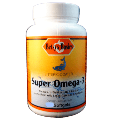 Betsy_s Basics Super Omega-3 (Enteric-Coated)