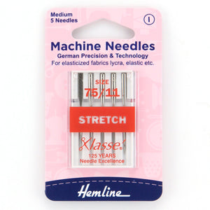 Stretch 75/11 Sewing Needles