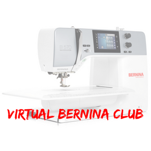 Virtual BERNINA Club Annual Membership