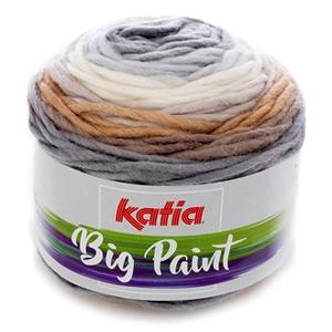 Katia Big Paint Knitting Yarn 201