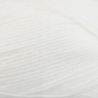 FiddLesticks Superb 8 Knitting Yarn White