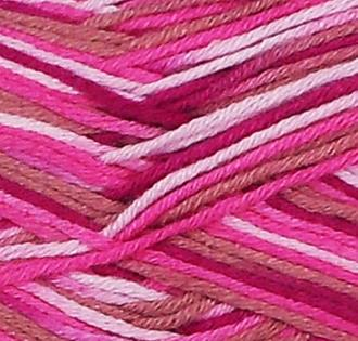 Fibra Natura Bamboo Jazz Multi Knitting Yarn Pink Multi