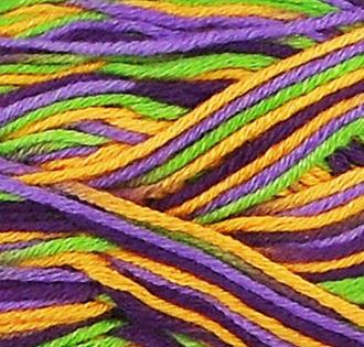 Fibra Natura Bamboo Jazz Multi Knitting Yarn Purple Multi