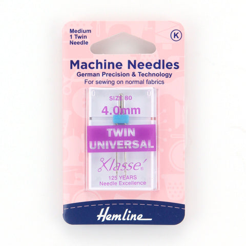 4.0mm Twin Universal Needles