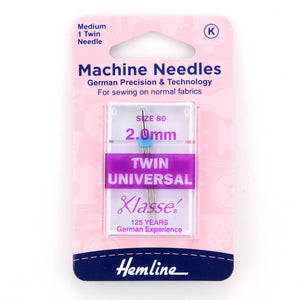 2.0mm Twin Universal Needles