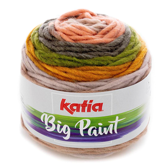 Katia Big Paint Knitting Yarn 205