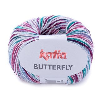Katia Butterfly Knitting Yarn 87