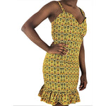 African Bodydycon Dress - African Print