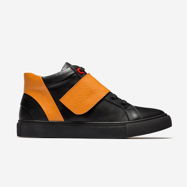 Casual High-Top Shoes Orange