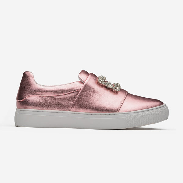 Women Loafers Shoes M-Pink - Top Women Loafers - OPP Official Store (OPP France)