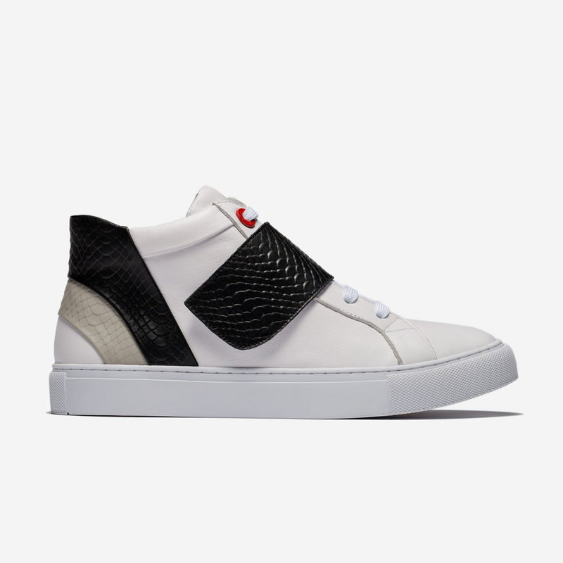 Casual High-Top Shoes Black