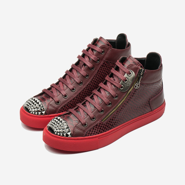 Men High-Top Shoes Red - Top High-top Shoes - OPP Official Store (OPP France)