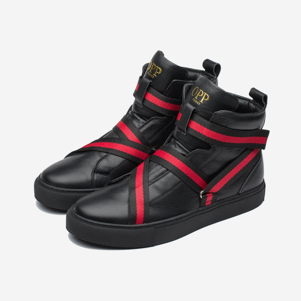 Men High-Top Shoes Black - Top High-top Shoes - OPP Official Store (OPP France)