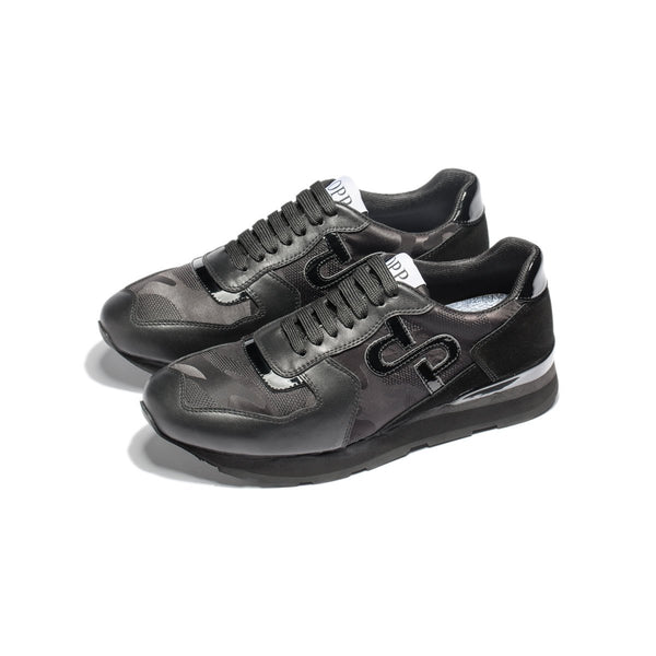 Lace-Up Sneakers Black - Top Sneakers - OPP Official Store (OPP France)