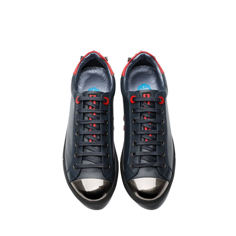 Lace-Up Casual Shoes Blue - Top Casual Shoes - OPP Official Store (OPP France)