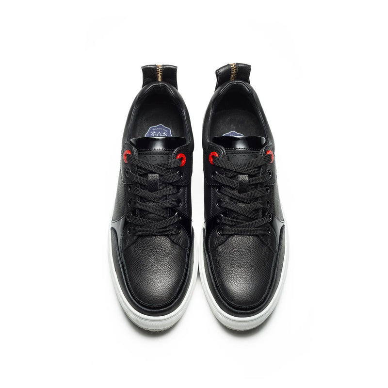 Casual Lace-Up Shoes Black - Top Casual Shoes - OPP Official Store (OPP France)
