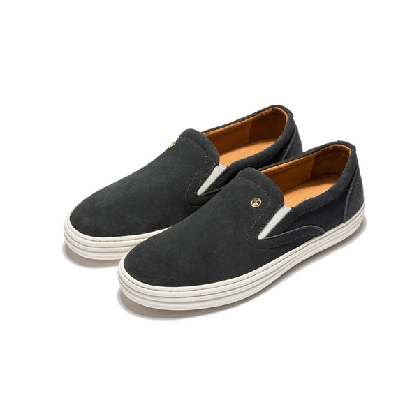 Suede Casual Shoes Grey - Top Casual Shoes - OPP Official Store (OPP France)