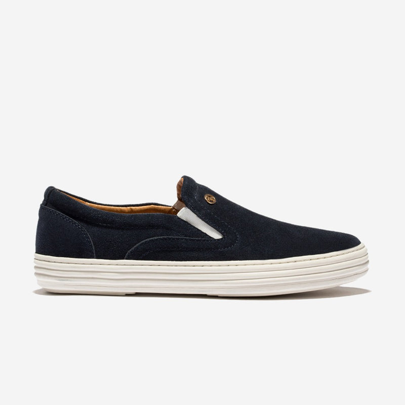 Suede Casual Shoes Blue - Top Casual Shoes - OPP Official Store (OPP France)