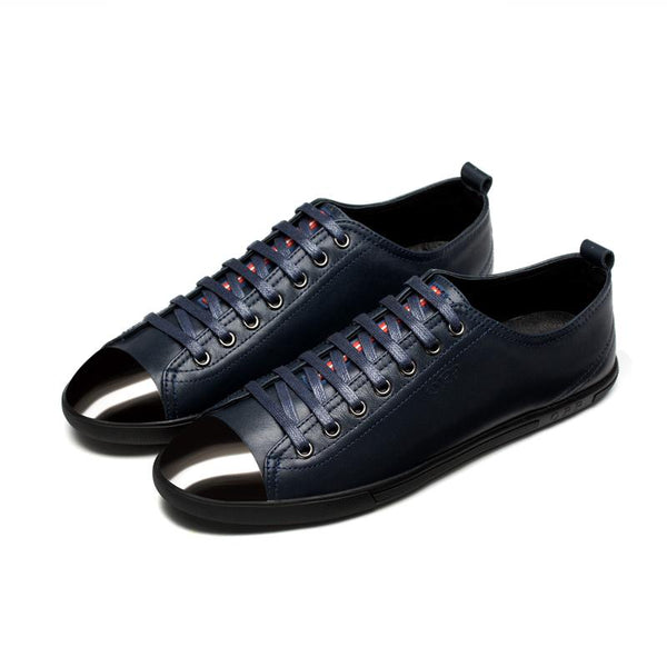 Metal Lace-Up Shoe Blue - Top Casual Shoes - OPP Official Store (OPP France)