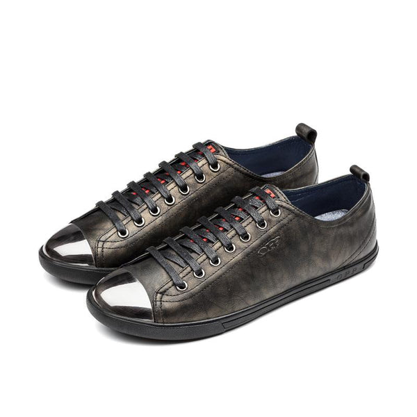 Metal Lace-Up Shoe Bronze - Top Casual Shoes - OPP Official Store (OPP France)