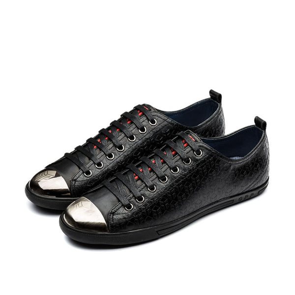 Metal Lace-Up Shoe Black - Top Casual Shoes - OPP Official Store (OPP France)