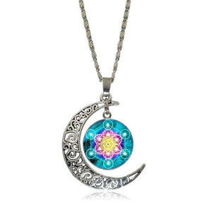 Necklace Sacred Geometry Flower of Life