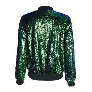 Chic Sequin Festival Jacket