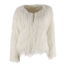LED Faux Fur Coat