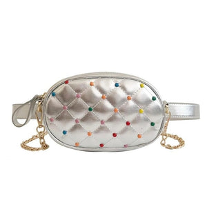 Velvet Beaded Fanny Pack