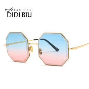 Geometric Gradient Sunglasses