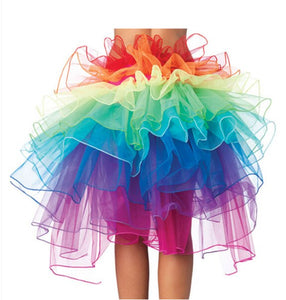 Fluffy Tail Rainbow Tutu